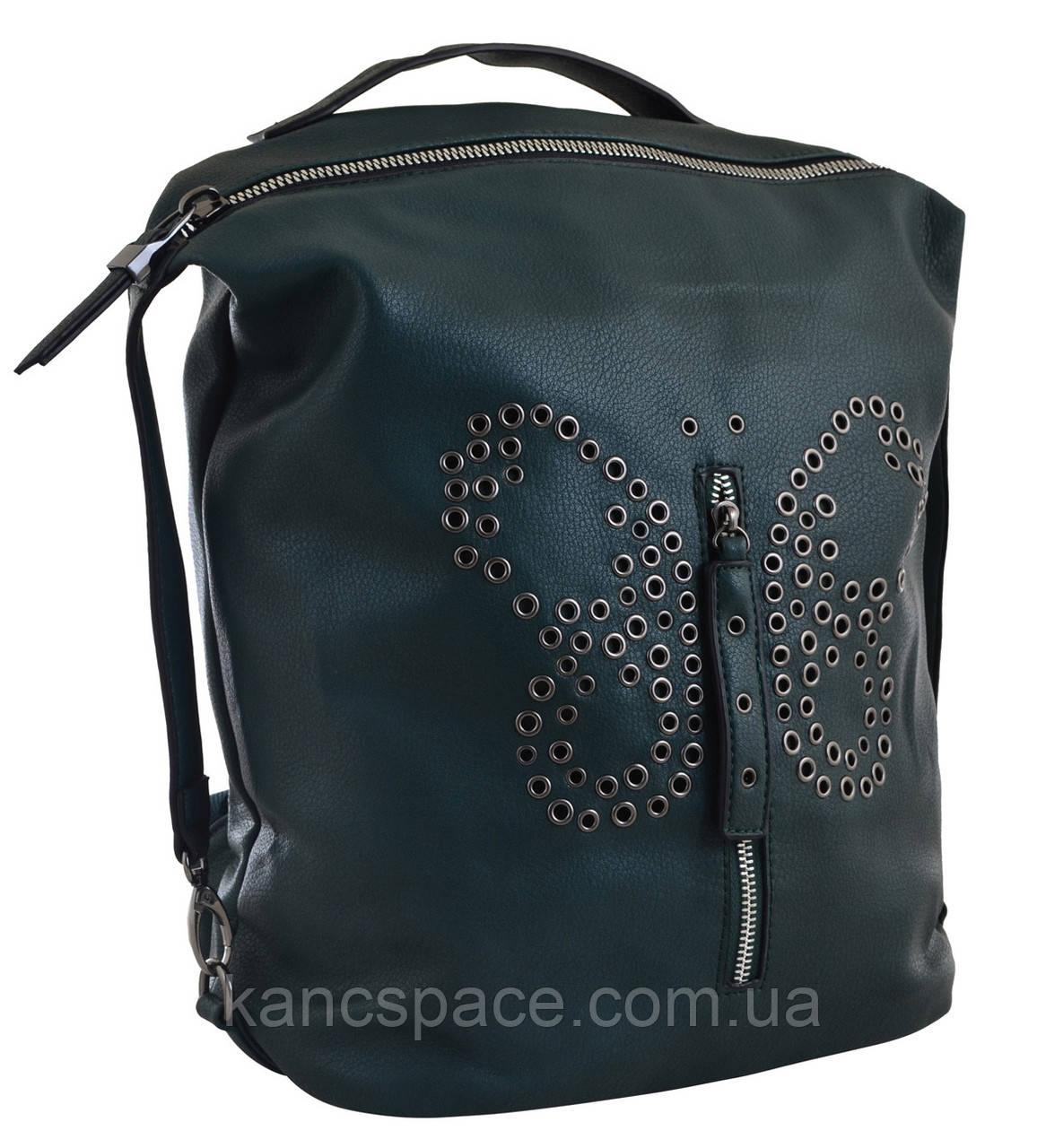 Рюкзак жіночий YW-17,  зелений