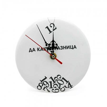 Часы настольные Да какая разница (идут в обратную сторону), фото 2