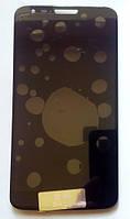 Дисплей модуль LG D802 D805 G2 в зборі з тачскріном, чорний