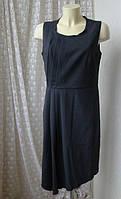 Платье женское элегантное легкое серое офис бренд Votre Mode р.44-46, фото 1