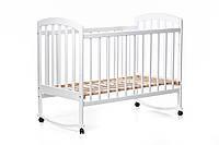 Детская кроватка «LAMA» (белая)