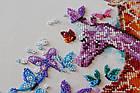 Наборы для вышивки бисером Пятнистые жирафики (30 х 30 см) Абрис Арт AB-641, фото 2