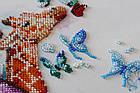 Наборы для вышивки бисером Пятнистые жирафики (30 х 30 см) Абрис Арт AB-641, фото 3