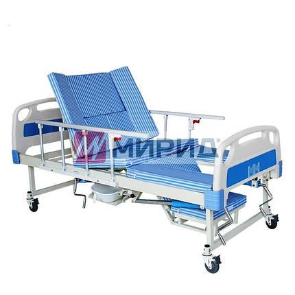 Медицинская кровать с туалетом E30. Функциональная кровать. Кровать для реабилитации. Для инвалида., фото 2