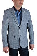 Пиджак мужской большого размера T.Cassano 721 64 светло-серая рябь