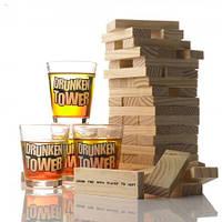 Настольная игра с алкоголем для компании Пьяная башня