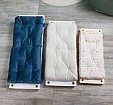 Маленькая деревянная подвесная качель 20*50см со сьемным сиденьем, качель для девочки, качелька, фото 3