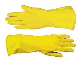 Перчатки хозяйственные Technics латексные желтые L (16-102)