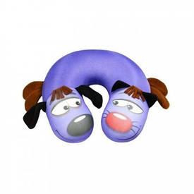 Подушка для путешествий КотоПес (фиолетовый)