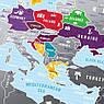Скретч карта Европы Europe, фото 3