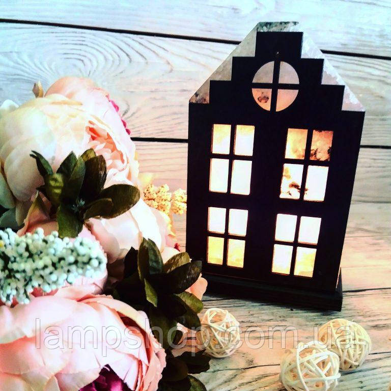 Солевая лампа «Дом» 2кг