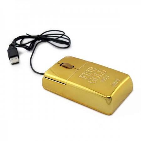 Компьютерная мышка Слиток Золота, фото 2