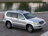 Килимок багажника Lexus GX 470 2002- (7 місць) Stingray, фото 2