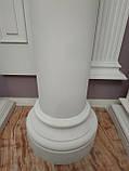 Колона з гіпсу, гіпсова колона ка-18 Ø210 мм (1/2), фото 5