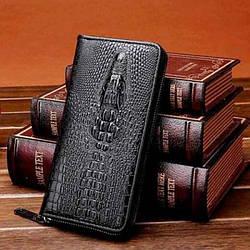 Чоловічий Клатч ALIGATOR bag ZQ850 чорний
