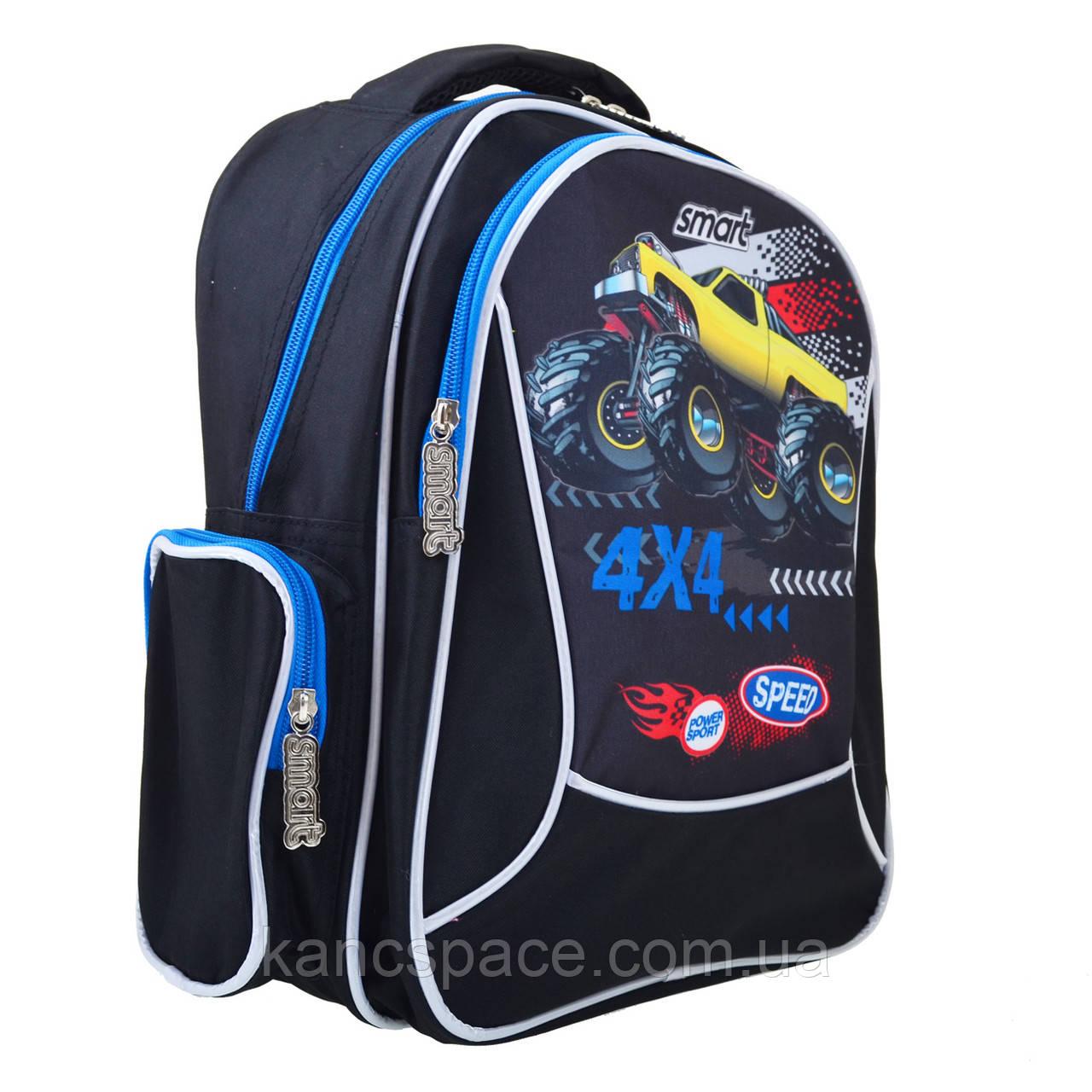 """Рюкзак шкільний ZZ-02 """"Speed 4*4"""""""