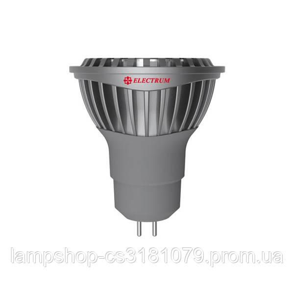 Лампа светодиодная MR16 LR-C 6W GU5.3 2700K алюм. корп. A-LR-0938
