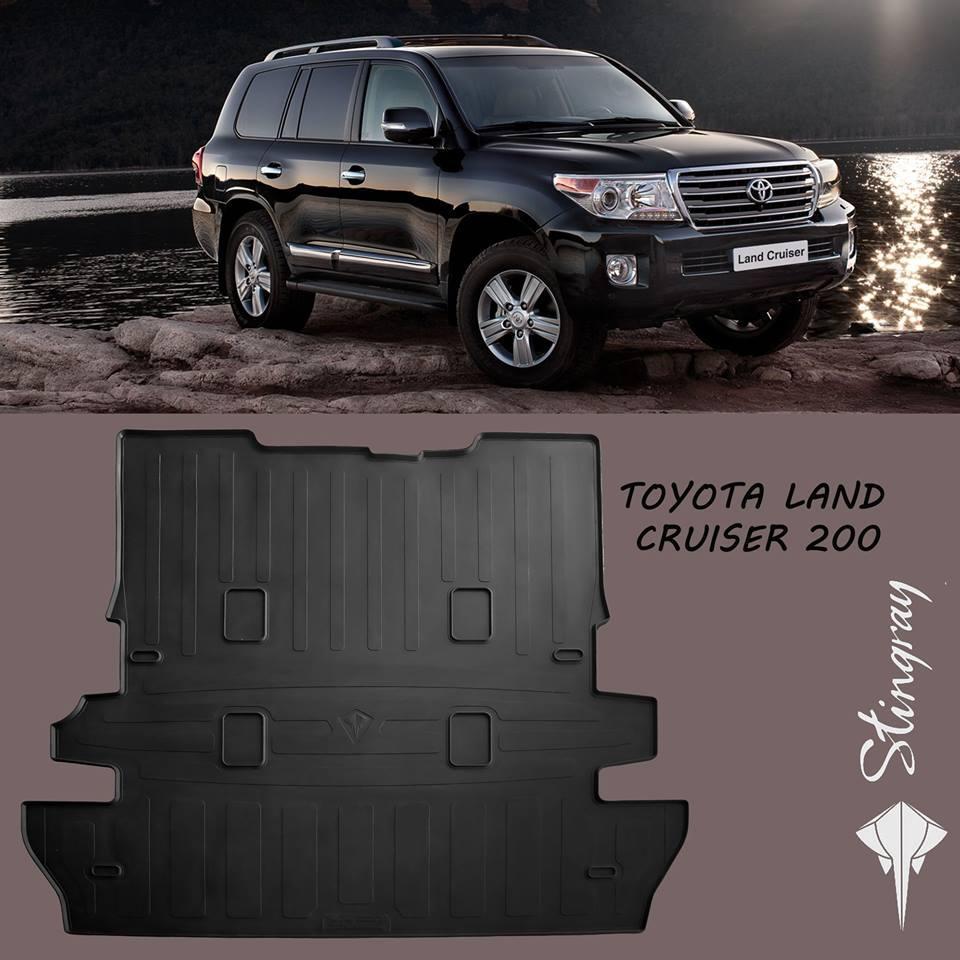Килимок багажника Toyota Land Cruiser 200 2007- (7 місць) Stingray