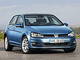 Килимок багажника Volkswagen Golf VII HB 2013- (верхній багажник) Stingray, фото 3