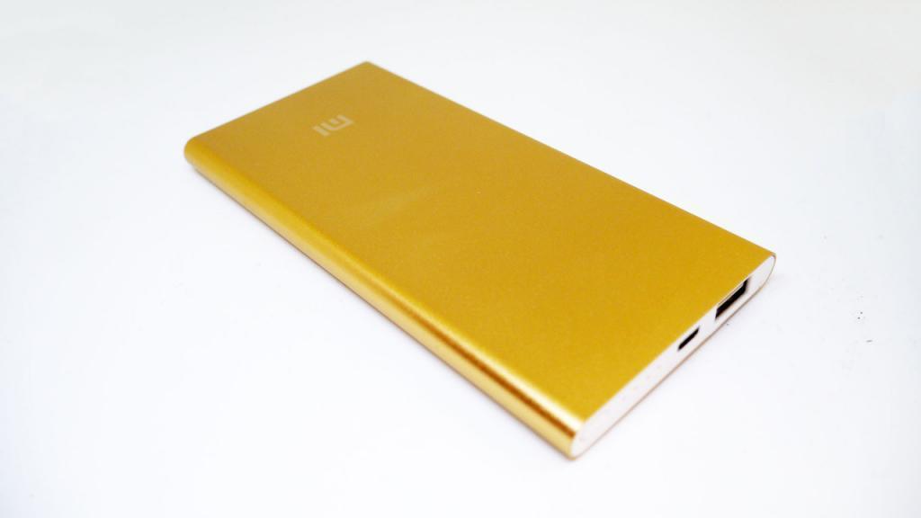 Портативное зарядное Power Bank Xiaomi Mi 24000 mAh Золотой