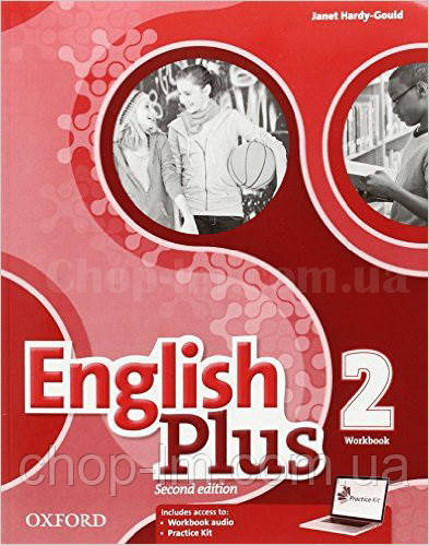 English Plus Second Edition Level 2 Workbook with access to Practice Kit / Рабочая тетрадь