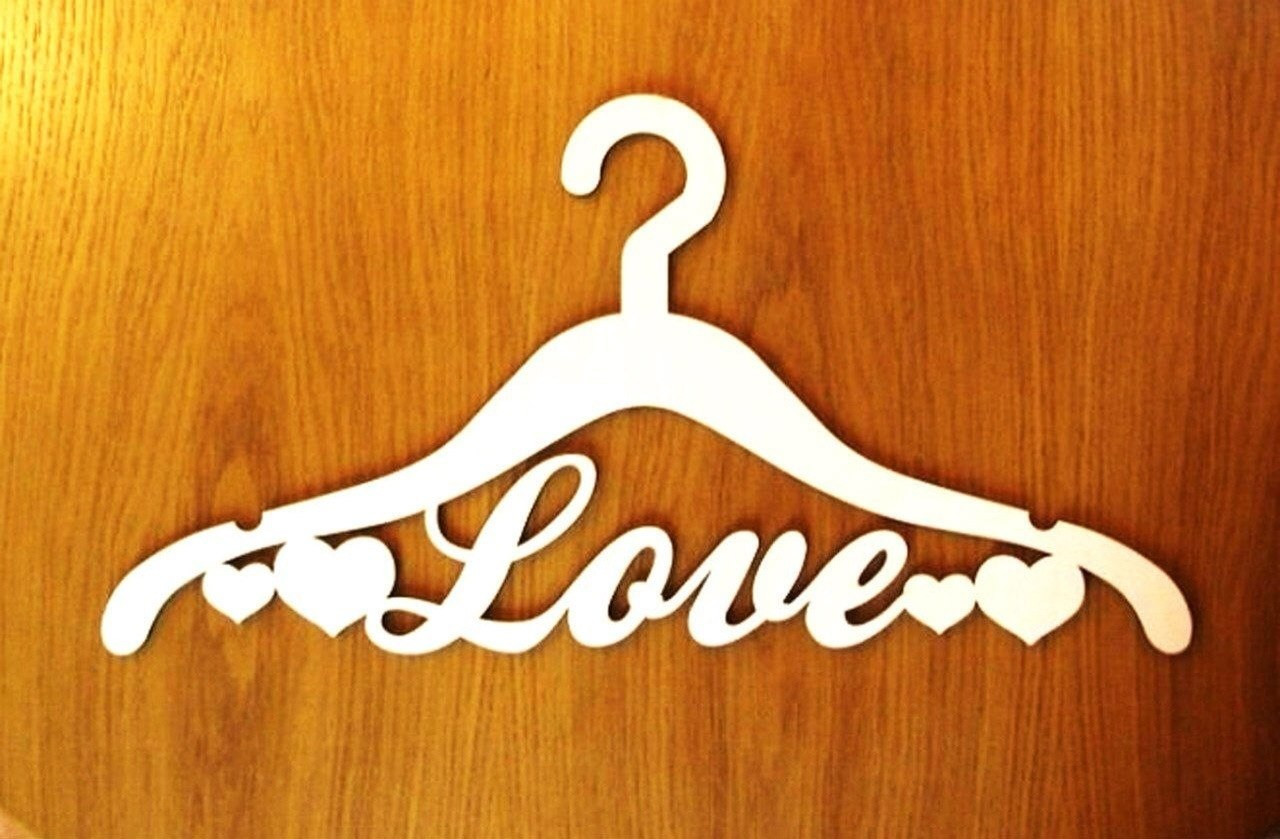 "Деревянная вешалка ""Love"""