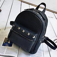 Женский рюкзак городской Соломия чёрный