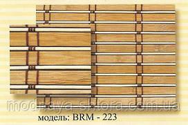 Римские бамбуковые шторы BRM-223 50х140 см