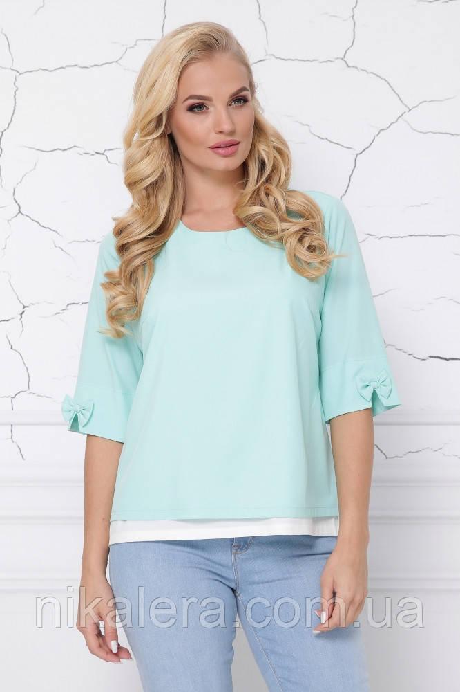 Женская блуза обманка рр 46-62