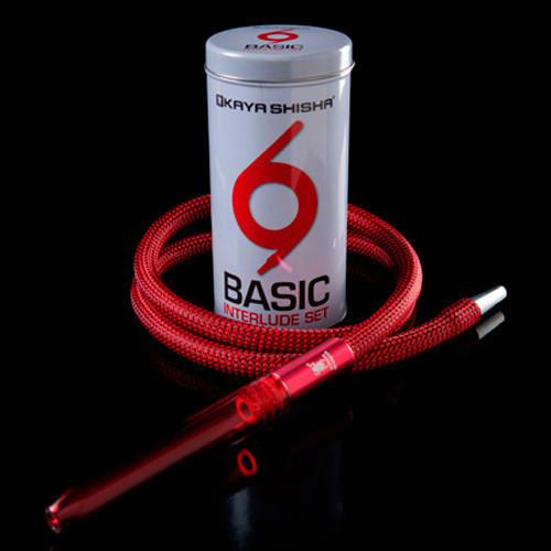Шланг Kaya Basic Interlude Acryl & Tin Can - Red