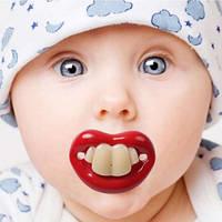 Соска с зубами (4 зуба)