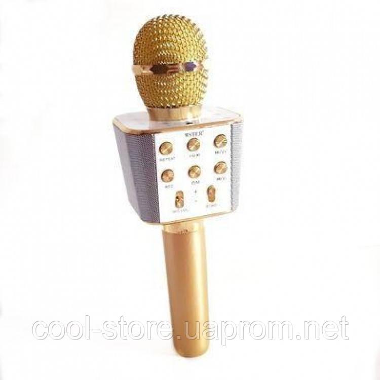 Караоке Микрофон WS-1688 Golg