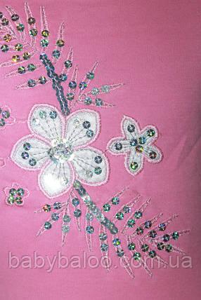 Туника цветочек вышивка (от 5 до 8 лет), фото 2