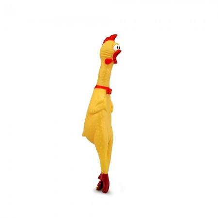Crazy Курица пищалка маленькая 33см