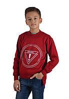 Свитшот детский на флисе Cegisa 5074 (04) 116/6 красный