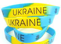 Силиконовый браслет с символикой Украины