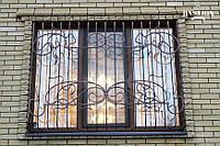Кованые решетки на окна РШБ-04 от ПДК Бастион