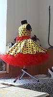 Дитяче плаття в горох. Універсальний розмір спинка на резинці. Будь-які розміри і кольори, фото 2