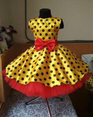 Дитяче плаття в горох. Універсальний розмір спинка на резинці. Будь-які розміри і кольори