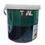 Монтажная паста 5 кг TOAL ACRYLMED DELTA красная (Польша)
