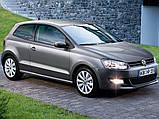 Ворсовые коврики Volkswagen Polo HB 2009- VIP ЛЮКС АВТО-ВОРС, фото 10