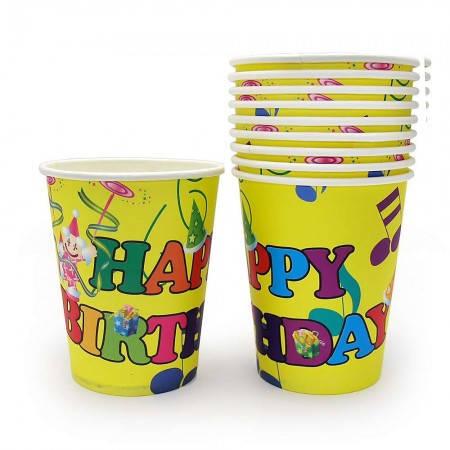 Бумажные стаканчики Шарики (уп. 10шт), фото 2