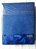 Простынь на резинке махровая, фото 2