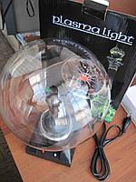 Шар плазменный самый большой (64см окружность колбы) - оригинальный ночник, шар молния