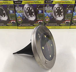 Универсальныйсветильникна солнечной батарее Solar Disk Lights