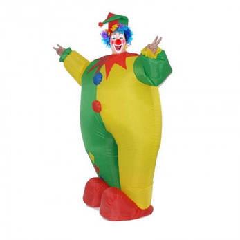 Надувной костюм Клоун, фото 2