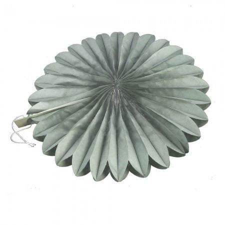 Веерный круг (тишью) 30см (темно серый 0027)