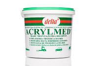 Монтажная паста с герметиком 4 кг TOAL ACRYLMED DELTA зеленая (Польша)