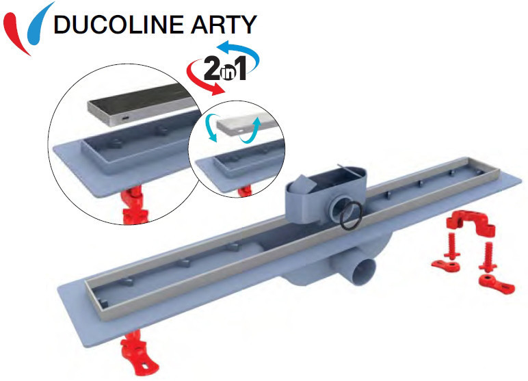 Трап для душа Valtemo Ducoline Arty 80 см