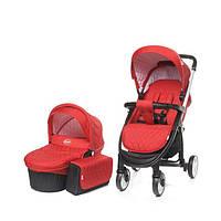 4 BABY Багатофункціональна коляска:прогулянкова+люлька ATOMIC XVII PinkiBaby (Многофункциональная коляска)